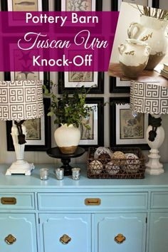 Southern State of Mind: {Knock-Off} Pottery Barn Tuscan Urn