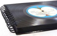 **XXL Fotoalbum mit 80 Seiten, Fotobuch, Fotomappe für die schönsten Erinnerungen**   **The Beatles 1967-1970 blue Album **    Fotoalbum, Fotomappe mit Vinyl Abdeckungen aus echten...