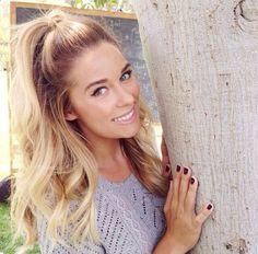 Lauren Conrad's sunkissed hairstyle this summer 2014, totally stunning  effortless at the same time WOW