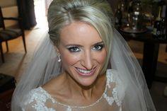my gorgeous bride Deirdre...smoky can be fabulous