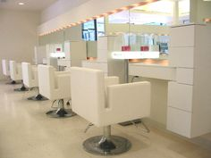 Your beauty salon interior design is the most important aspects of your salon business. Home Hair Salons, Home Salon, Salon Lighting, Lighting Design, Lighting Ideas, Salon Mirrors, Salon Names, Retail Solutions, Bath And Beyond Coupon