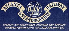 Atlanta & St. Andrews Railway. 1906-1994.   Class III railroad.  Alabama and Florida.   Acquired by the Bay Line Railroad in 1994. The Bay Line R.R. was acquired by Genesee & Wyoming Inc. in 2005.