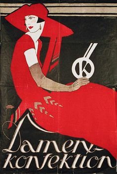 Fashion Austrian Poster, 1930
