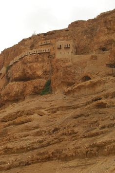 The Mount of Temptations in Jericho, Palestine