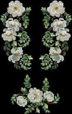 Gallery.ru / Фото #13 - схемы для вышиванок - zhivushaya