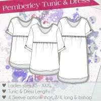 Love Notions Pemberley Tunic & Dress Pattern