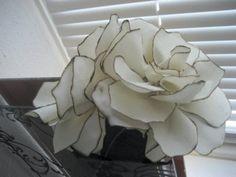 DIY fabric bouquet http://www.weddingbee.com/2010/07/27/diy-fabric-flower-bouquet/