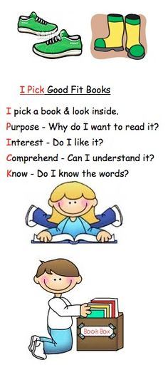 I-Pick bookmark