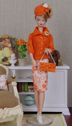 Tangerine Dream for Barbie & Victoire Roux by HankieChic on Etsy