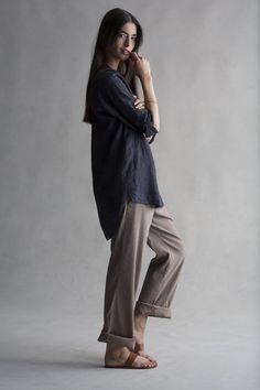 Eileen-Fisher-what-to-wear-in-a-heatwave