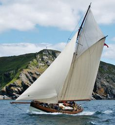 Click to enlarge image of Bristol Channel 38 ft Pilot Cutter Replica 2011 boat for sale