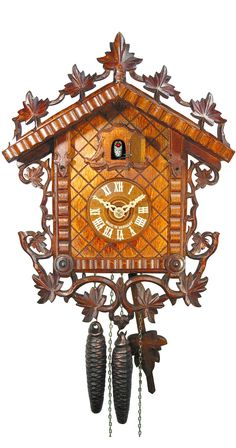 August Schwer 1-Day 1885 Replication Cuckoo Clock 1.0119.01.C