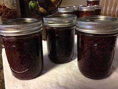 Blackberries Preserved