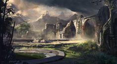 Acrospar Ruins by fmacmanus.deviantart.com on @DeviantArt
