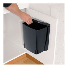 BuyBrabantia Built in Bin, Black, 10L Online at johnlewis.com
