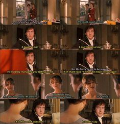 Fitzwilliam Darcy's inner struggles