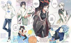 Manhwa, Manga Art, Anime Art, Webtoon Comics, Ship Art, Character Design References, Anime Comics, Aesthetic Art, Art Sketches
