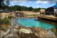 natural swimming ponds | Natural Swimming Pools by bonita