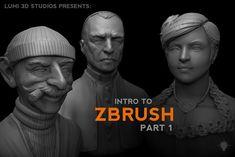 Intro to ZBrush Part I, Michael Pavlovich on ArtStation at https://www.artstation.com/artwork/zz5ym