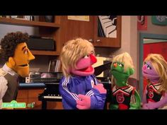 "Sesame Streets ""Glee"" skit @Sara Williams"