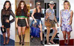 Beautifully Fierce!: Short And Sweet......    From L-R: Chrissy Teigen, Selena Gomez, Miranda Kerr, Naomi Watts and Kaley Cuoco