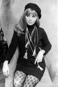 Britt Ekland, 1960s.