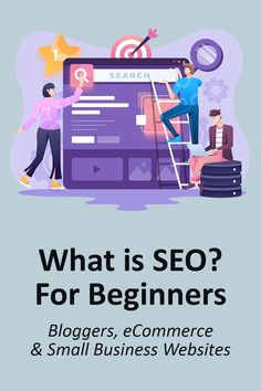What is SEO? This post is for beginners who want to understand SEO for blogging, eCommerce and small business websites. Learn SEO. #seo #searchengineoptimization #googleranking #googlerank #pagerank #blogseo #itsthejourneyblog Business Website, Online Business, Seo Software, What Is Seo, Seo For Beginners, Online Group, Paying Ads, Seo Strategy, Seo Tips
