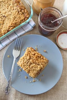 Peanut Butter and Jelly Coffee Cake from Two Peas & Their Pod (http://punchfork.com/recipe/Peanut-Butter-and-Jelly-Coffee-Cake-Two-Peas-Their-Pod)