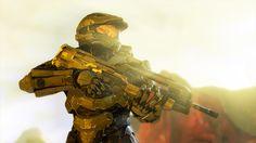 Halo 4 Master Chief in the sun. Still a hottie <3