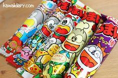 Japanese kawaii diary: Japanese Cheap sweets/ Umaibo