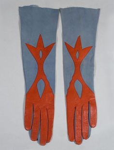 These gloves were made for Gimbel's Department Store in the 1940's.