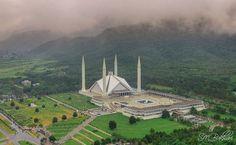 Iconic Faisal Masjid Pakistan, Islamabad