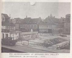 Strandgade og Havnegade 1939