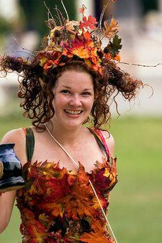 The Autumn Fey by atistatplay.deviantart.com on @deviantART