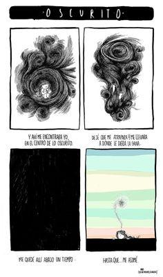 agustina guerrero · illustration: diario de una volátil ·oscurito·