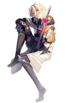 Grey Gardens, Albedo, My Prince, Otaku, Fan Art, Artist, Anime, Character, Pixiv