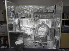 Image result for aluminum foil tablecloth