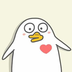 Cute duck having a crush illustration 小刘鸭 by Duck Cartoon, Cartoon Memes, Girl Cartoon, Cartoons, Cute Disney Wallpaper, Cute Cartoon Wallpapers, Duck Illustration, Character Illustration, Duck Wallpaper