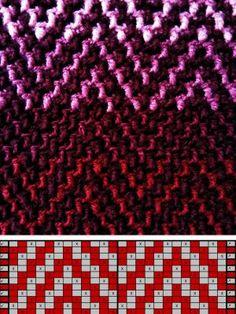 Patterns Crochet Stitches Patterns, Crochet Chart, Knitting Stitches, Stitch Patterns, Knitting Patterns, Freeform Crochet, Tapestry Crochet, Crochet Motif, Mosaic Knitting