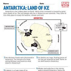 Antarctica Printables  | TIME For Kids Antarctica, Social Studies, Penguins, Homeschool, Southern, Printables, Google Search, Kids, Young Children