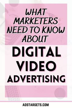 Here's a list of effective ways for digital video marketing. #OnlineAdvertising Mobile Advertising, Video Advertising, Online Advertising, Advertising Ideas, Need To Know, Digital Marketing, Ads, Learning, Business