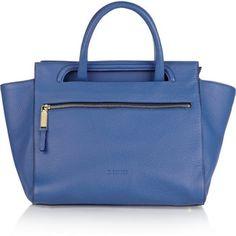 ShopStyle: Jil Sander Malavoglia leather tote