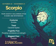 Happy Halloween Scorpio!