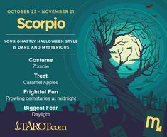 Halloween #Scorpio! http://madamastrology.com Free #Astrology Natal Chart Reading  & #Horoscope (for the 50% discount write to madamkighal@madamastrology.com)