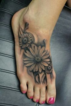 Sunflowers would have been a nice cover up......leave it to your Daddy:)