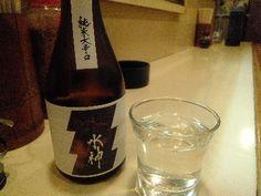 Sake(日本酒・あさ開水神)