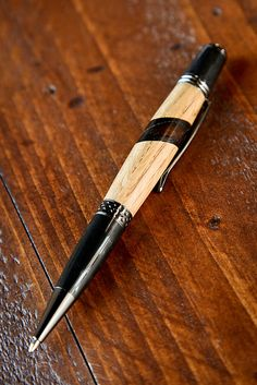 Maker's Mark 46 Wall Street Pen with Gunmetal Hardware $80.00