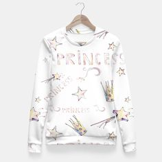 Princess Fitted Waist Sweater, Live Heroes
