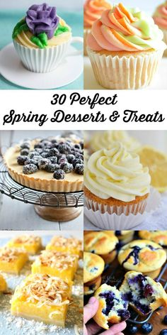 30 Perfect Spring Desserts and Treats from @willcook4smiles
