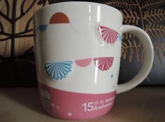 派對庭園 14 oz released for celebrating Starbucks' 15th anniversary in Taiwan.